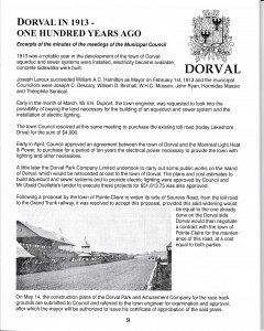 Dorval 100 Years Ago, Hyppodrome