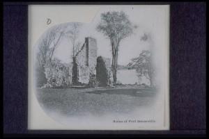Fort de Senneville, Ruins of Fort Senneville (BANQ2)