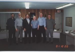 Dernier Conseil d'Administration de Roxboro fin 2001, 001
