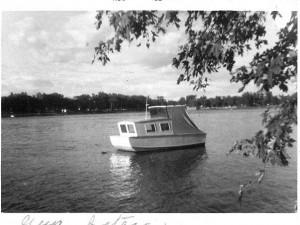 Bateau de Guy sur Rivière des Prairies 1963 (3)