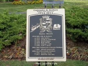 Plaque, Parc Jacinthe Fyfe 002