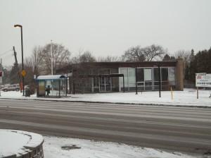 Ancienne banque Laurentienne, 10451 boul. Gouin ouest, Roxboro, construite en 1966