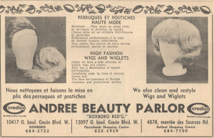Andree Beauty Parlor,-10-nov-1965 Jacques-Cartier reporter