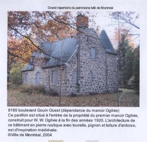 Maison du Chauffeur (W.W. Ogilvie), 9185 Boul. Gouin Ouest, Saraguay