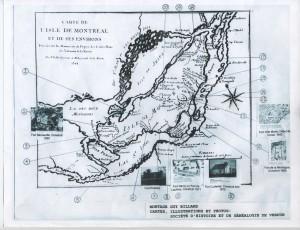 Liste des 21 anciens forts sur l'ile de Montréal 001