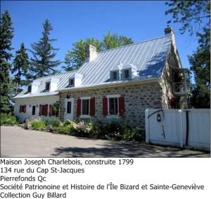 Maison Joseph-Charlebois, 1995