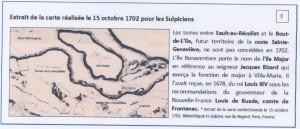Carte 1702, Coste Ste-Genevieve 001